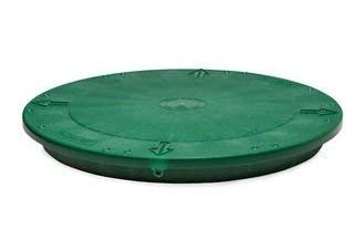 TUF-Tite 24' Heavy Duty Flat Riser Lid for TUF-Tite Risers or Corrugated Pipe Risers