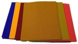 BAGUE Ugadi Special Cotton 1 m Unstitched Blouse Pieces (Multicolour, Free Size) - Pack of 5
