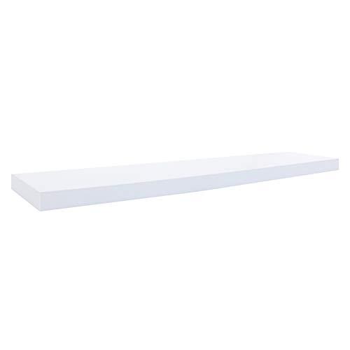 Rebecca meubelset 2 moderne wandplanken, wandplank, MDF, voor boeken of cd's