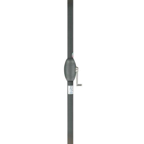タカショーウッドパラソル2.7mクランク付ベージュ