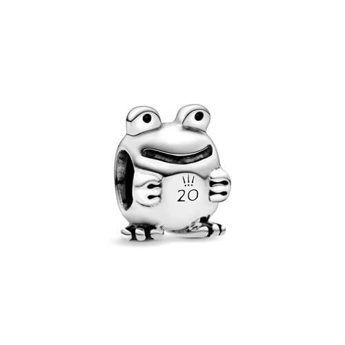 ZHANGCHEN New Pandora Limited Edition Frog 925 Erling Silver Bead, Cuentas Finas adecuadas para la joyería Original de Pandora