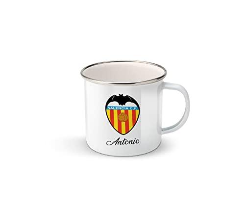 Taza personalizada Valencia cf con nombre, taza Valencia cf, regalos del Valencia cf