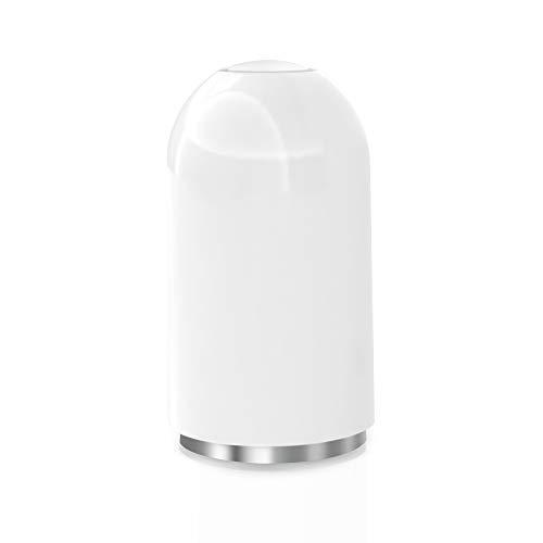 TechMatte Kappe, Magnetische Ersatzkappe und Halter für Apple Pencil (1 Stück, Weiß)