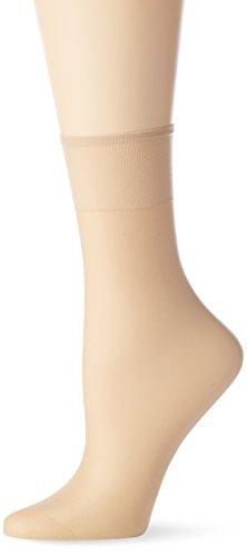 Nur Die Damen Socken 615869, 15 DEN, Braun (Teint 114), One size (Herstellergröße: one size)
