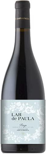 Lar de Paula Sin Sulfitos Edicion Limitada, Vino Tinto, 1 Botella, 75 cl
