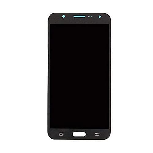 DDBAKT Reemplazo de pantalla para teléfono móvil duradero Pantalla LCD táctil digitalizador compatible con Samsung Galaxy J7 2016 J710 SM-J710M Pantalla LCD táctil (Color: Negro)