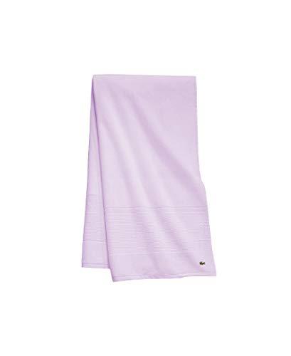toalla lila fabricante Lacoste