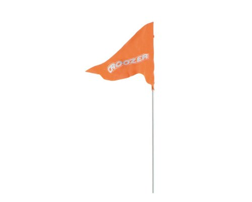 Croozer Unisex – Erwachsene Wimpel-3092025900 Wimpel, Orange, One Size