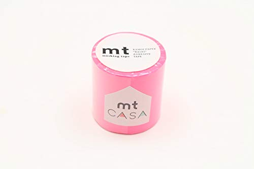 Masking Tape (MT) CASA Uni 5 cm Rose Fluo - Shocking