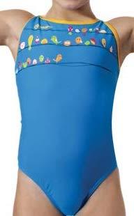 Okeo -Birdy- Costume Intero Nuoto per Bambina_tg 30