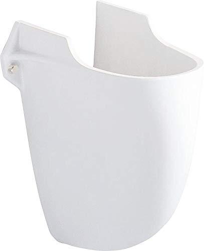 Waschtisch Hatria Nido 680 x 480 mm Halbsäule Befestigung 68cm weiß