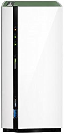 """QNAP TS-228A NAS Mini Tower Ethernet LAN White storage server - NAS & Storage Servers (HDD, Serial ATA III, 3.5"""", FAT32,HFS+,NTFS,ext3,ext4, 1.4 GHz, Realtek) - Confronta prezzi"""