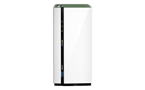 QNAP TS-228A Desktop NAS Gehäuse mit 1 GB DDR4, Powerful 2-Bay Storage Server