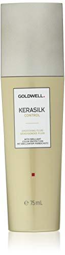 Goldwell Kerasilk Control Smoothing Fluid - Keratin & Silk For Sleek Style & Heat Protection - 2.5oz