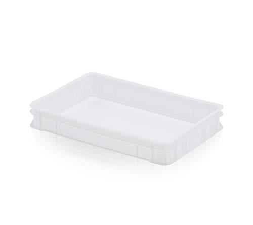 Teigbehälter 60 x 40 x 9,5 * Pizzaballenbox * Pizzateigbox * Teig Pizza Box