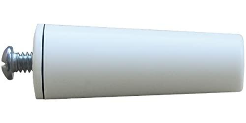 Schellenberg 52011 color blanco, 60 mm