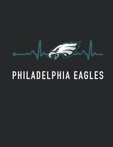 Philadelphia Eagles: Philadelphia Eagles Heartbeat | NFL Fan Essentials | Football College Ruled 8.5x11 inches, 110 pages