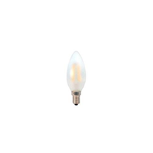 LED Kerze Filament gefrostet 3W 2700K warmweiß E14