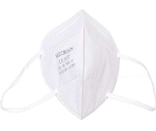 Mascarilla FFP2 CE 0370-40 uds FFP2 Protección Personal - Bolsa Individual 5 capas - EN149: 2001 + A1: 2009 Alta eficiencia filtración≥95% - Pinza Nasal Suave/Ajustable, Mascarilla Profesional