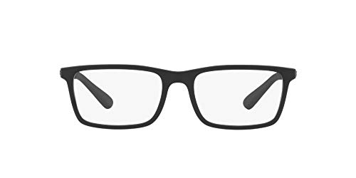 Ray-Ban 0RX7091I-54-5196 Gafas de lectura, Matte/Schwarz, 54 MM para Hombre