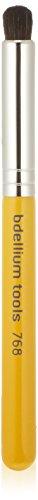 Bdellium Tools - Pennello per sfumature, professionale e antibatterico, punta arrotondata, linea viaggio