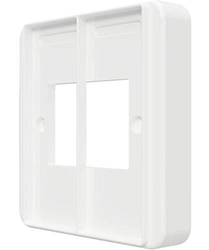 Copertura per interruttore della luce per dimmer Philips Hue, adattatore, convertitore, bianco (SM209XL)
