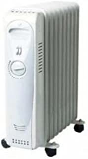 Kendo KH-2009B - Radiador eléctrico (2000 W, termostato ecológico)