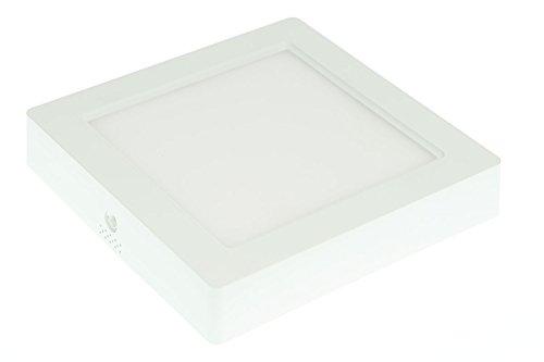 LUMIXON Ultraslim LED Aufbau Panel 172x172x33mm 12 Watt 230 Volt 960 Lumen (Warmweiß)
