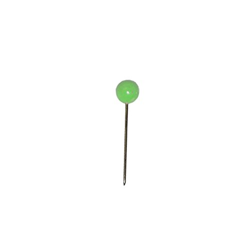 Alco-Albert 617 Landkartennadeln, Durchmesser: 5 x 16 mm, Dose 100 Stück, hellgrün