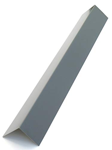Alu Winkel Blech 2000mm lang, Alu Blechwinkel, Kante, Winkel 90° Eckwinkel Anthrazit Grau RAL 7016 (30mm x 30mm)