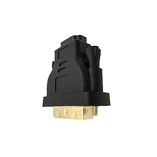 Tuimiyisou Profesional DVI-I a HDMI Adaptador Macho a Hembra Adaptador Cable Chapado en Oro HDMI Adaptador convertidor