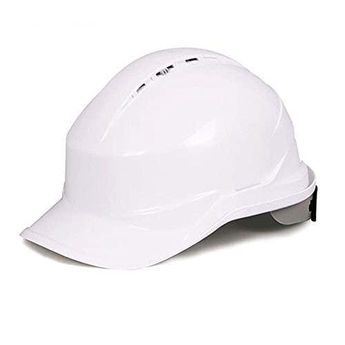 SONGYU Casco de Seguridad, Casco Transpirable, Liderazgo en Obras de construcción/Ingeniería de construcción Seguridad Laboral Casco de protección (Color: D)