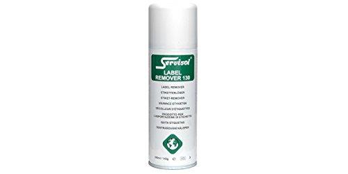 servisol AV-701.112UK Label Remover 130 Self Adhesive Label and Sticker Remover, 200 ml