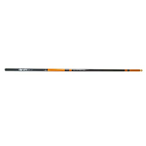 NYKK Angelrute Angelrute Ultra Light Carbon-Hand Pole Bass Angel Collaspible Casting Rod Spinnrute for Anfänger und...