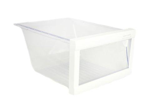 LG Electronics 3391JJ1038B Refrigerator Vegetable Crisper Drawer, Clear with White Trim