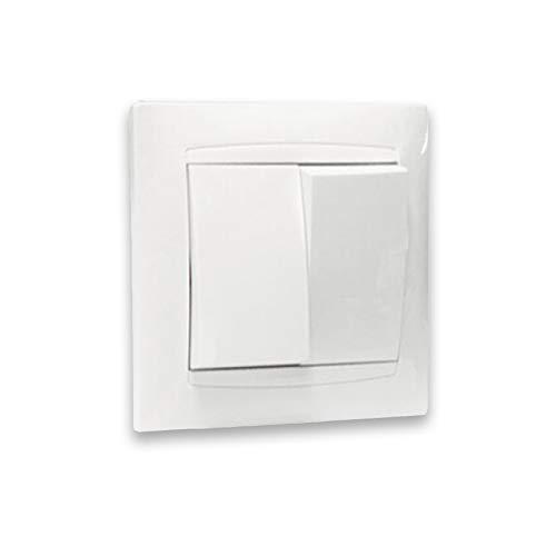 Empotrables serie premium (Doble interruptor empotrable)