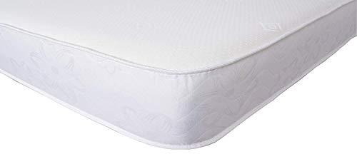 Starlight Beds Shorty Small Single Mattress, Reflex Foam Mattress - Orthopaedic Support - Hypoallergenic - Firm Code (Shorty 2ft6 x 5ft9) FB006
