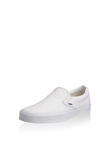 Vans UA Classic Slip-On, Sneaker a Collo Basso Unisex-Adulto, Bianco (True White), 44 EU