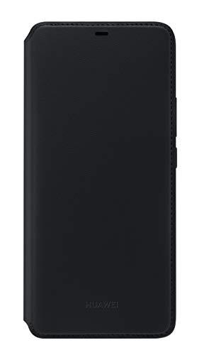 Huawei Wallet Cover, passend für Mate 20 Pro Schwarz