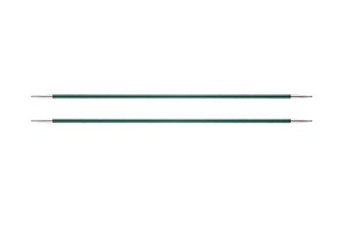 KnitPro K47005 Sockennadeln, Metal, Grün, 15cm / 3mm