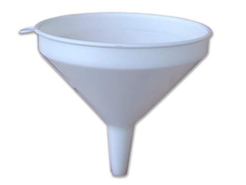 Embudo de PP para trasvase de líquidos, Ø 10 cm, Color Bla