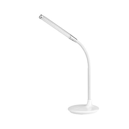 Lámpara de escritorio Protección de los ojos del estudiante lámpara de escritorio táctil interruptor de la manguera ajuste de rotación con el puerto de atenuación de aprendizaje Trabajo Tabla lámpara