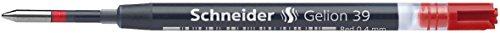 Schneider Schreibgeräte Gel-Tintenrollermine Gelion 39, Großraummine ISO-Format G2, rot