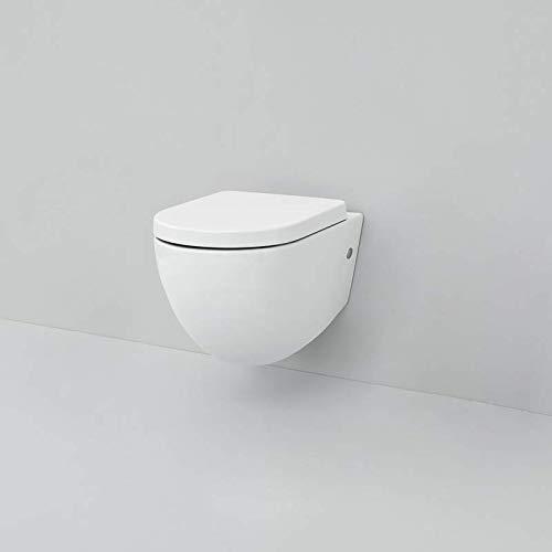 WC Suspendu rangées 2.0 The Artceram Art. flv001 Cache-Pot amortie Non Inclus