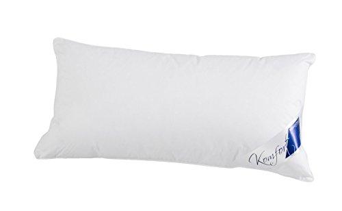 Böhmerwald Komfort Kopfkissen, 70% Federn / 30 % Daunen, Füllgewicht: 500 g, Stützkomfort: normal, 40 x 80 cm