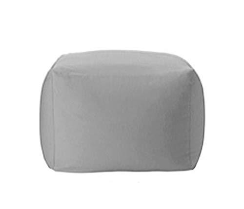 noyydh Lazy Couch Tatami Single Recliner Bean Bag Non-Printing Semplice Divano da Letto for Adulti (Color : Silver Gray)