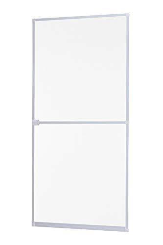 empasa Insektenschutz Fliegengitter Tür Alurahmen START auf Maß geschnitten oder als Selbstbausatz in weiß, braun oder anthrazit 100 x 210 cm