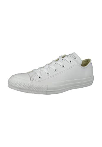 All Star Ox Leather Baskets Monochrome Noires