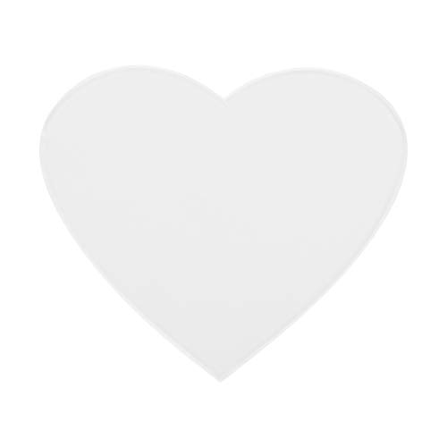 Anti-Falten-Silikon-Brustpolster-Pflege Wiederverwendbare Pads(Herz)