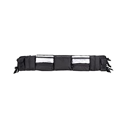 TYPSHOP Engranaje de Quad Negro UTV Bolsa de Almacenamiento de Organizador de Jaula de Rollo Grande Ajuste para Polaris RZR Ranger Fit para Can-Am Maverick Commander Fit para Yamaha